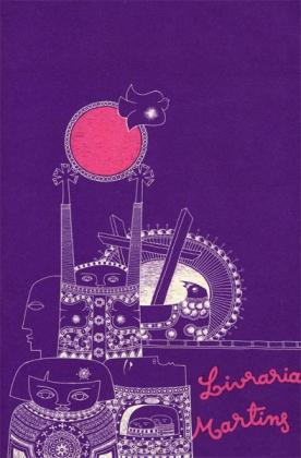 Desenho da autoria de Augusto Mota, de fim dos anos 60, para uma das muito conhecidas capas da Livraria Martins, de Leiria