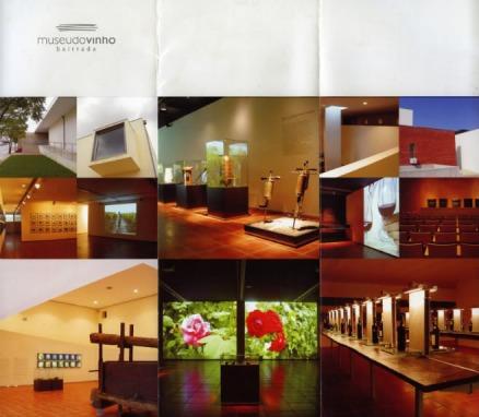 prospecto do Museu do Vinho da Bairrada