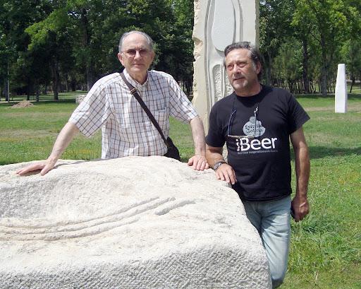 Armando Martinez - Conjunto escultórico megalítico Mealhada