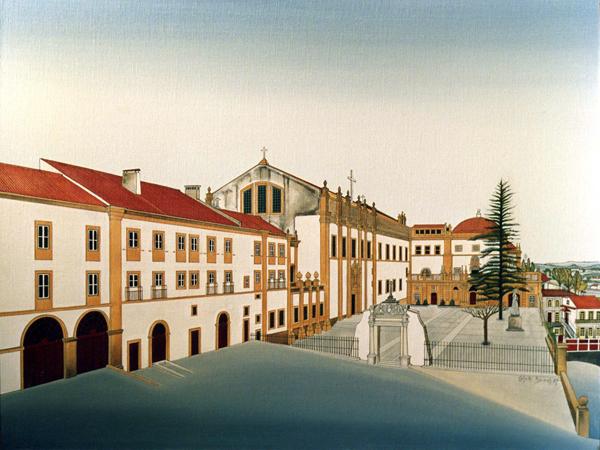 Santa Clara-a-Nova, acrílico s/ tela s/ platex, Costa Brites, Costa Brites, 1987