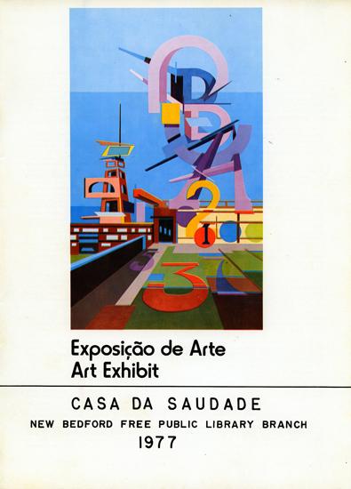 catálogo exposição Casa da Saudade, New Bedford, Free Public Library, 1977