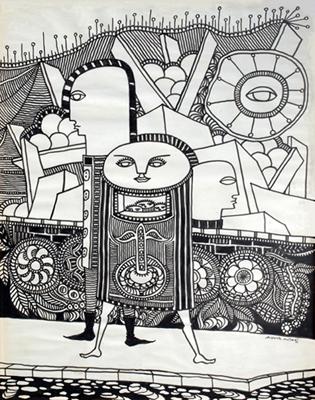 Augusto Mota - desenho
