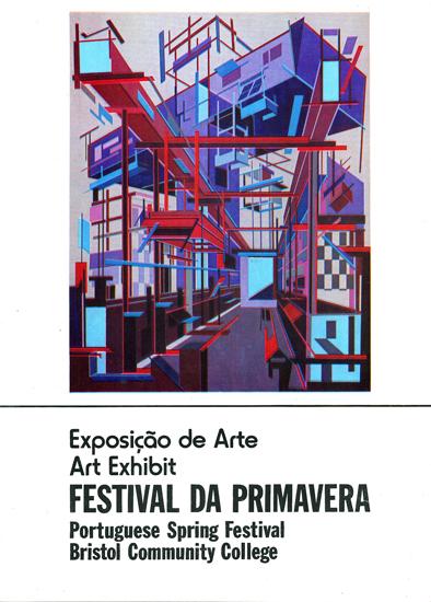 catálogo Festival da Primavera, Gristol Community College, 1976