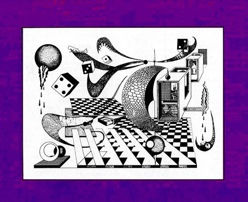 """Rogério Silva, """"composição"""", desenho"""