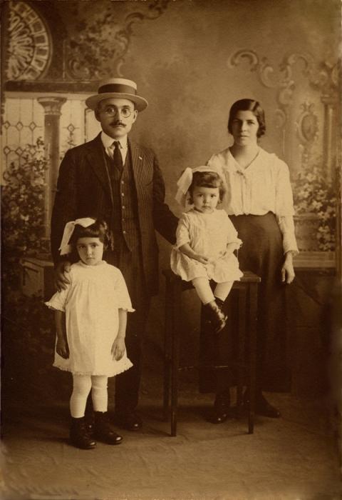 Papá, Mamã, minha mãe Lourdes e tia Lídia